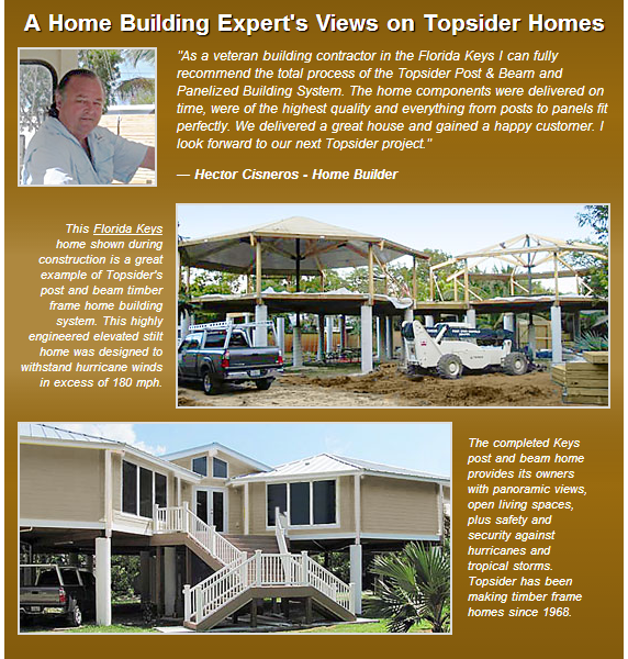 Cisneros and Sons, Topsider Home, Florida Keys Builders